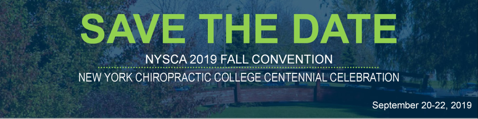 NYSCA 2019 Fall Convention & NYCC Centennial